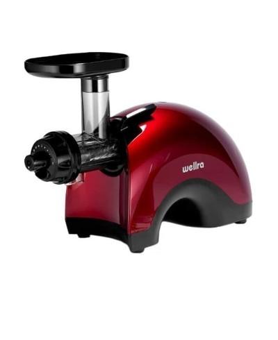 Wellra TGJ 50S Rot- Slow Juicer - Saftpresse - Entsafter