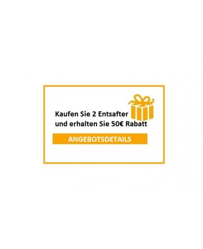 PROMOTIONAL ANGEBOT - 50€ RABATT